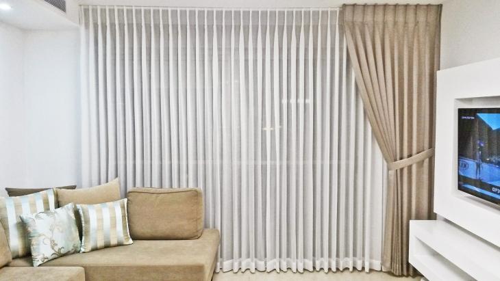 オシャレなカーテン画像