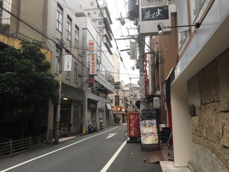 店舗の前面道路の画像