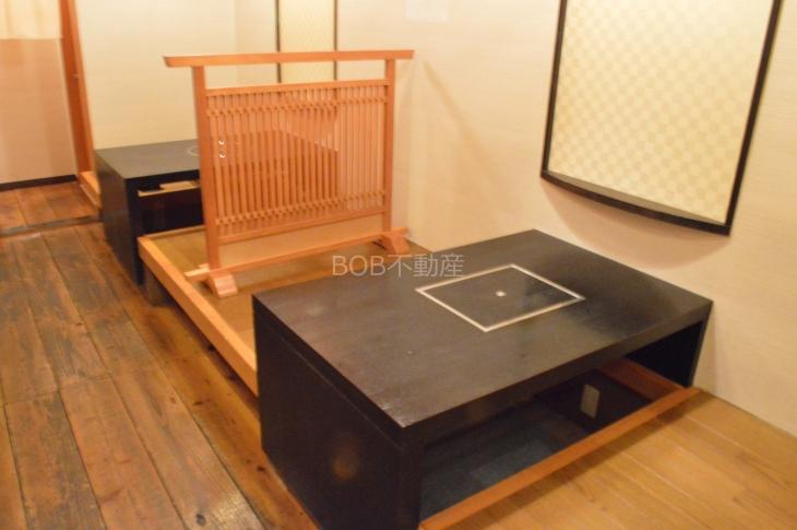 座敷風の席の画像