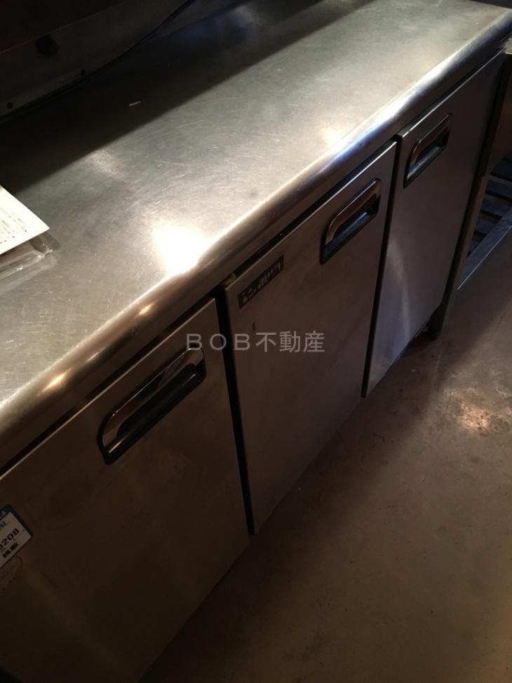 台下冷蔵庫の画像